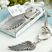 Angel Wing Key Ring Favours